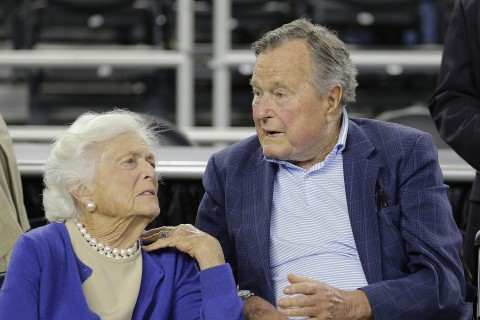 George H.W. and Barbara Bush Recovering in Hospital