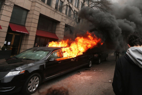 'They Don't Have the Right': D.C. Driver Recalls Crowd That Torched Limo