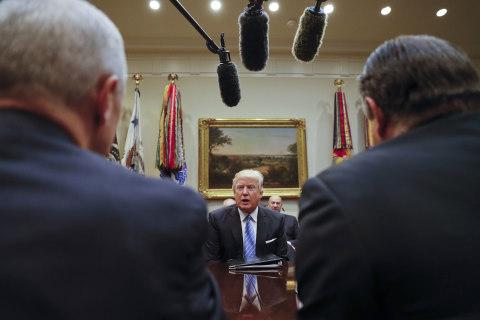 Trump Focuses on Economy After Inauguration Feud