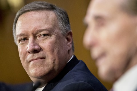 Mike Pompeo Sworn In as CIA Director After Senate Confirmation