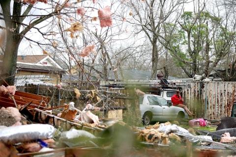 Tornadoes Devastate New Orleans Neighborhoods Hit by Katrina