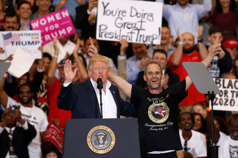 During Florida Rally, Trump Appears Make Up Terror-Related Incident in Sweden