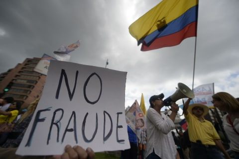 Ecuador's Leftist Candidate Leads for President, Runoff Possible
