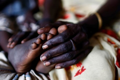 Famine Ravages the World's Newest Country