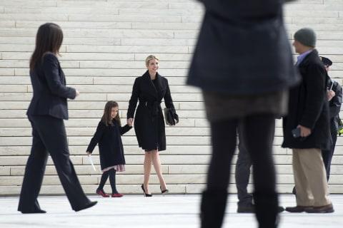 Ivanka Trump Visits the Supreme Court