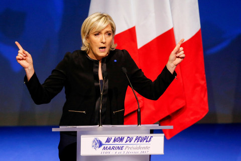 Far-Right Marine Le Pen Leads French Polls But Still Seen Losing Runoff