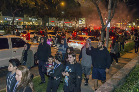 Off-Duty L.A. Cop Fired Into Ground, Not at Teenagers, Authorities Say