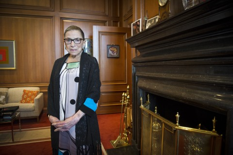 Ruth Bader Ginsburg Signals She'll Stay on Supreme Court as Long as She Can