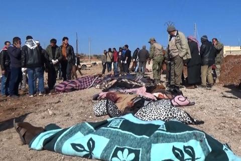 Bomb Blasts Near Newly Liberated Syrian Town Kill at Least 60