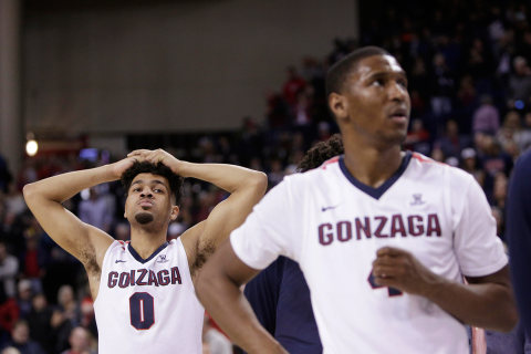 No. 1 Gonzaga Shockingly Loses Perfect Season on Home Court