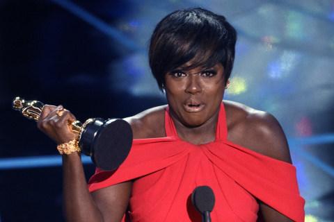 "Viola Davis Makes History With Her Oscar for ""Fences"""