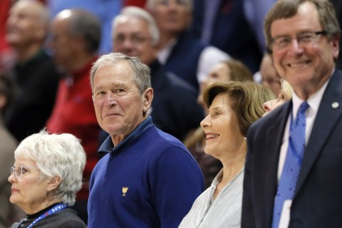 George W. Bush: Media Crucial to 'Hold People Like Me to Account'