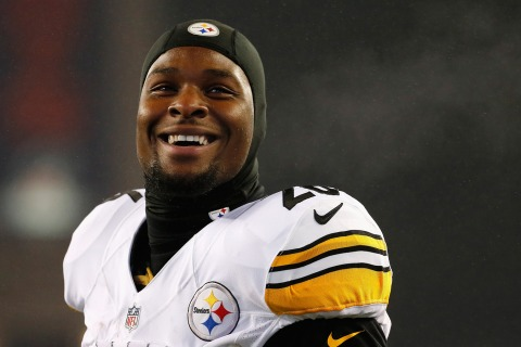 Steelers Use Franchise Tag on Star Running Back Le'Veon Bell