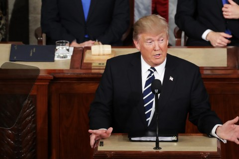 12 Fact Checks From Donald Trump's First Formal Address to Congress