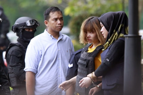 Kim Jong Nam Death: Two Women Charged With Murder in Alleged VX Nerve Attack