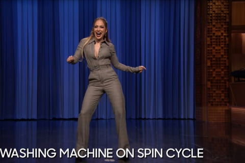 Jennifer Lopez's Dance-Off With Jimmy Fallon Is the Best Thing You'll See Today
