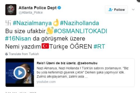 Twitter Hackers Post Turkish Flag, Target Netherlands in 'Nazi' Spat