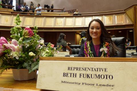 Hawaii Republican Leader Rep. Beth Fukumoto Officially Resigns From GOP