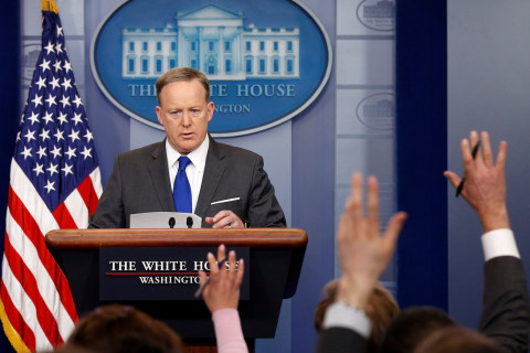 100 Days of Data: What Sean Spicer's Briefing Habits Reveal