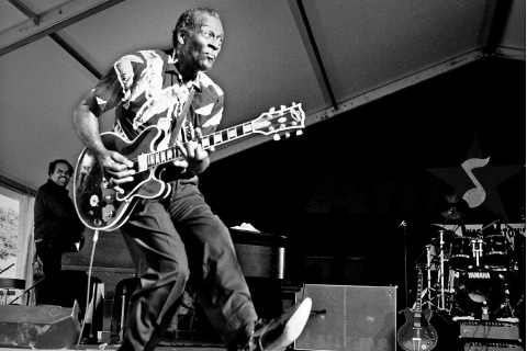 Are the Aliens Already Chuck Berry Fans?