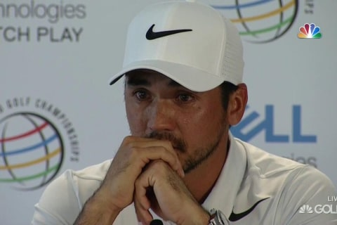 Emotional Jason Day Withdraws From Event, Says Mom Has Terminal Cancer
