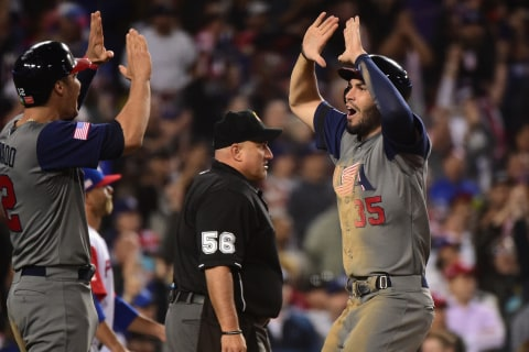 U.S. Blanks Puerto Rico, Wins First World Baseball Classic Title