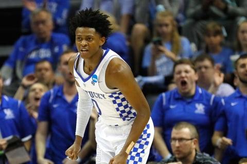 Kentucky Freshman Scores 39, Leads Wildcats Back to Elite Eight