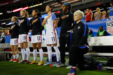 U.S. Soccer Star Won't Back Off Protests Despite Team's Policy