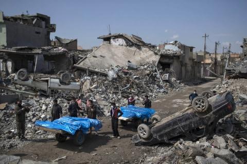 Coalition Airstrikes Hit Mosul Location Where Scores of Civilians Were Killed: CENTCOM