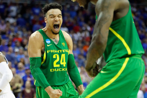 Oregon Tops Kansas, Reaches Final Four For First Time Since 1939