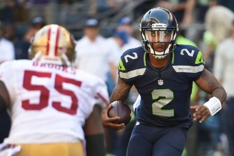 Seahawks QB Arrested After Car Backs Into Bar, Injures Five
