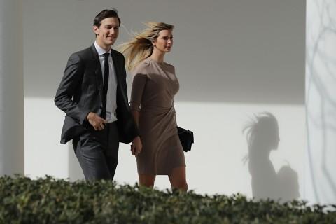 Ivanka Trump, Jared Kushner: Rising Powers at the White House