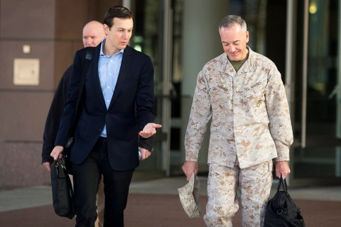 Jared Kushner in Iraq With Joint Chiefs Chairman