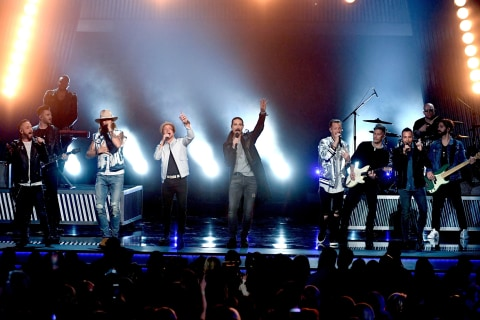 Backstreet Boys Reunion Steals the Show at Academy of Country Music Awards