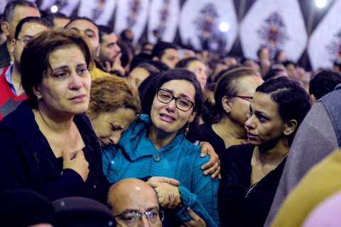 Egypt Palm Sunday Coptic Church Blasts: State of Emergency Declared