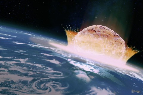 New Asteroid Study Suggests Hollywood Is Wrong About Ocean Impacts