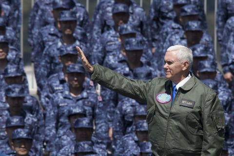 VP Mike Pence Warns North Korea: 'We Will Defeat Any Attack'