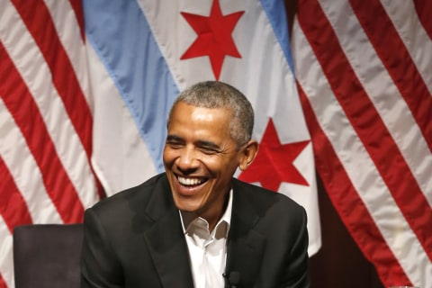 Obama Returns to Public Stage for First Time in University of Chicago Forum
