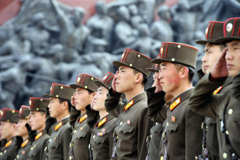 North Korea Holds Drill With Live Fire to Mark Military Anniversary: Seoul