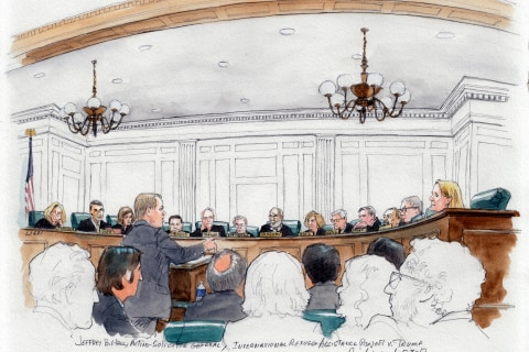 Appeals Court Skeptical of Trump Administration's Defense of Executive Order Restricting Travel