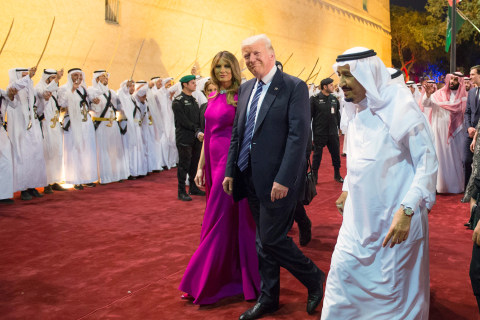 Trump Receives Royal Welcome in Saudi Arabia