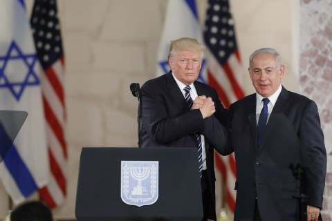 Trump Says Trip Shows Him Israel, Palestine 'Ready for Peace'