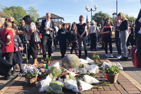 English Village Says Goodbye to Girls, 8 and 18, Killed in Manchester Attack