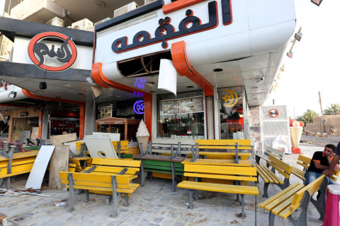 Baghdad Ice Cream Parlor Hit by Suicide Bomber