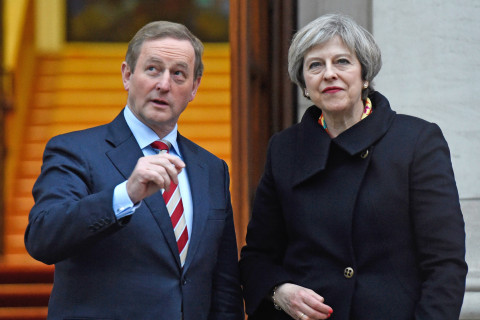 May's Bid to Stay in Power Risks Northern Ireland Peace Process