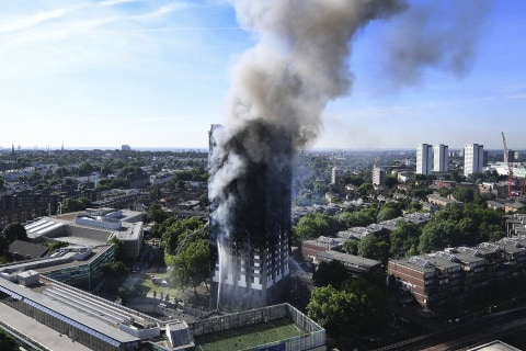 London Fire: 600 High-Rises Have Grenfell Tower-Style Cladding