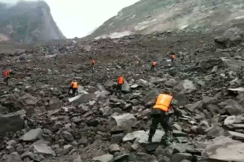 Around 100 People Feared Buried By Southwest China Landslide