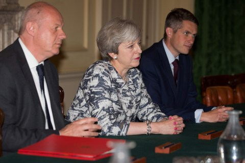 U.K. Prime Minister Theresa May Strikes Deal to Form Government