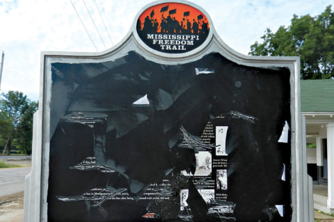 Historical Marker of Civil-Rights Icon Emmett Till Vandalized in Mississippi