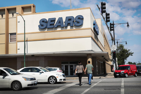 Sears Shares Jump Almost 20 Percent on News It Will Sell Appliances on Amazon